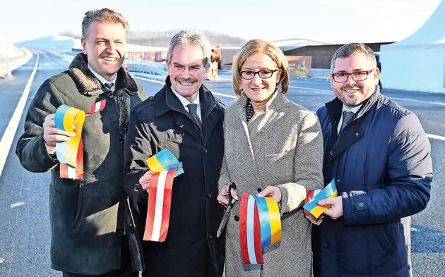Nordautobahn Eröffnung