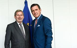 Stadtrat Hanke kämpft in Brüssel für Wien