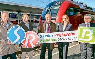 S-Bahn mit größtem Fahrplan-Plus seit Start