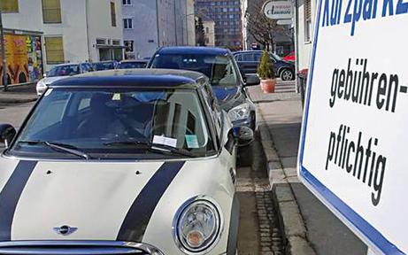 In Klagenfurt parkte es sich am schlechtesten