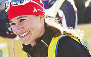 Pippa Middleton urlaubt in Lech am Arlberg