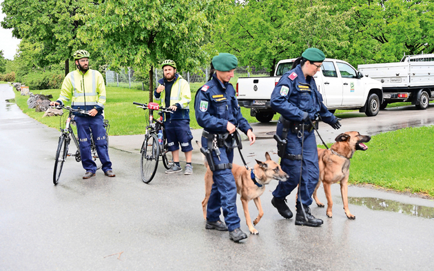 Polizei Donauinsel