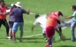 Prügel-Wahnsinn im Fußballstadion