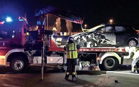 Betrunkener Geisterfahrer baute Unfall auf Autobahn