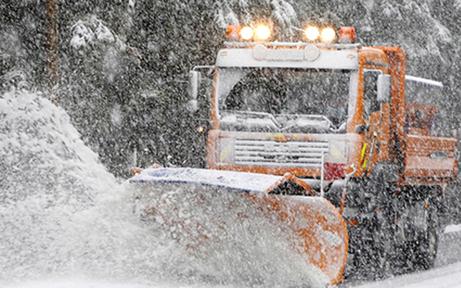 Wintereinbruch: Salzlager gefüllt