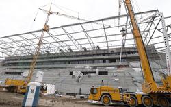 Rapid: Stadionbau geht in den Endspurt