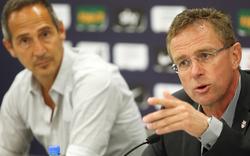 Rangnick ledert gegen Coach Hütter