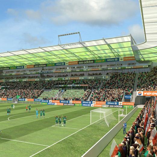 Das ist das neue Rapid-Stadion