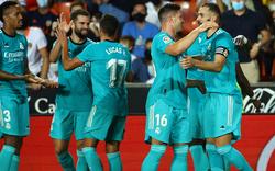 Spitzenreiter Real fertigte mit Alaba Mallorca mit 6:1 ab