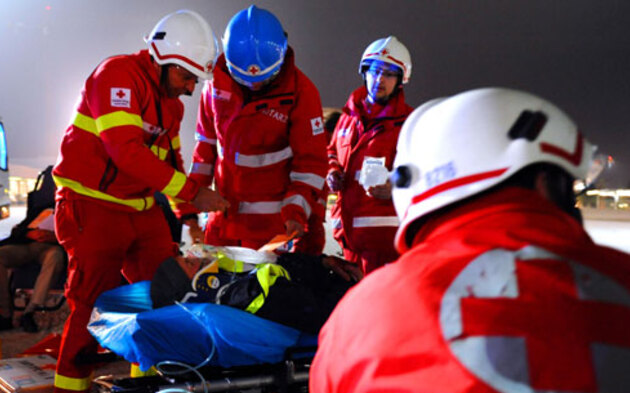 Rettung Rotes Kreuz Ambulanz Notarzt