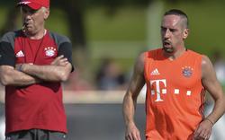 Bayerns Ribery tritt gegen Guardiola nach