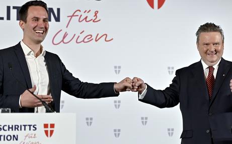 Rot-Pink in Wien jetzt fix: Auch NEOS segneten Programm ab