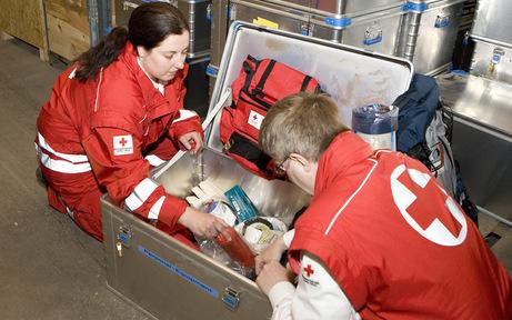 Rotes Kreuz: Mitarbeiter kämpfen weiter um mehr Geld