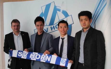 Japaner will den SV Horn zum Erfolg führen