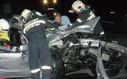Schlepper baute Todes-Crash