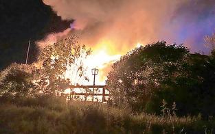 Partylokal an Neuer Donau brennt ab