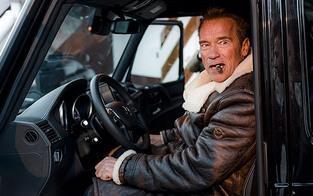 Das ganze Mühlviertel war im Schwarzenegger-Fieber