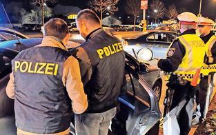Polizei macht Jagd auf die Drogenlenker