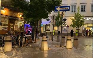Hochwasseralarm: Hallein steht unter Wasser