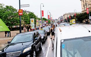 Chaos wegen Demo am Ring & Donauinselfest