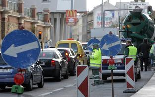 Ab sofort versinkt die Wiener City im Stau-Chaos