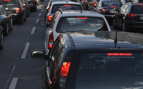 Abendliches Verkehrs-Chaos in Wien