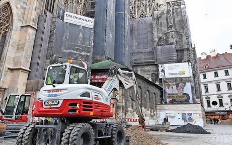 Heute startet der große Umbau am Stephansplatz