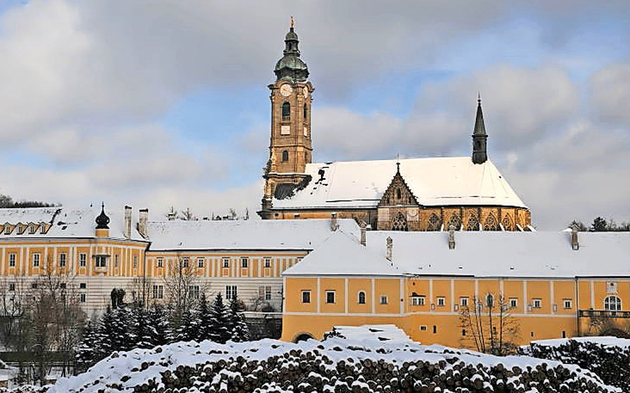 Stift Zwettl Winter