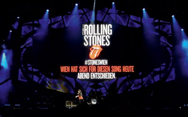 Die Roling Stones rockten in Wien