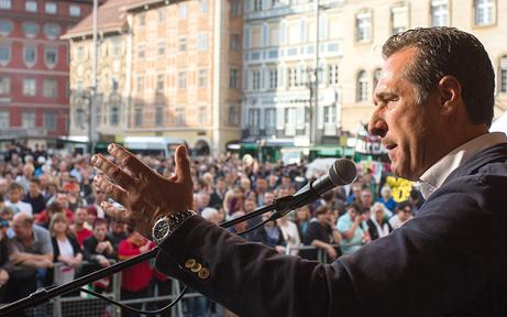 ÖVP wettert wegen Strache-Demo