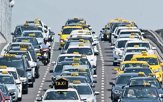 Taxi Demo Wien