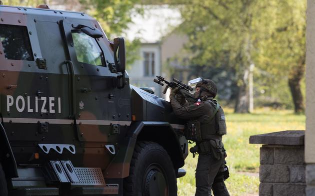 Polizei startet große Anti-Terror-Übung in Kiel