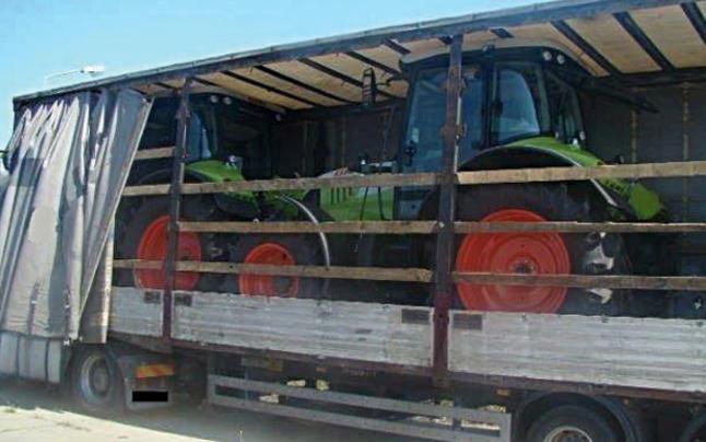 Coup in Tirol und NÖ: Bande stahl 17 Traktoren