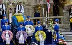Trauerfeier für Prinzessin Lilian