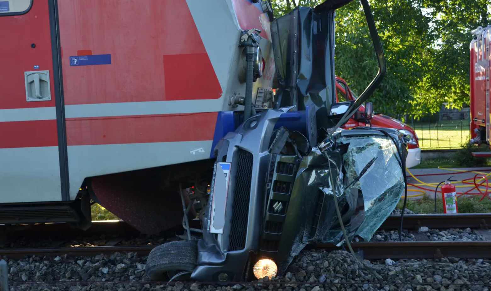 Zug Crash Tattendorf