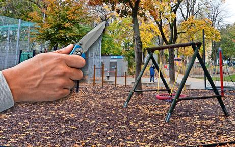 Messerstecherei in 'Horror-Park' in Wien