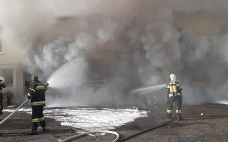 Gift-Alarm nach Großbrand in Kärntner Akku-Lager