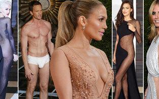 So nackt waren die Oscars noch nie