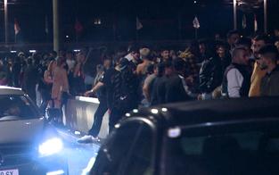 Tausende feiern wilde Corona-Party in Salzburg