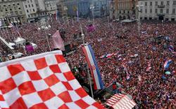 Ganz Kroatien feiert seine WM-Helden