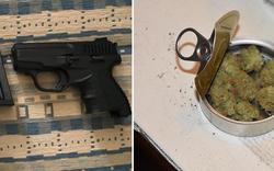 Waffen, Drogen, Pyros: Polizei nimmt Rapid-Fan-Vereinslokal auseinander