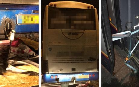 Kärntner Polizei zog Schrott-Bus aus Verkehr
