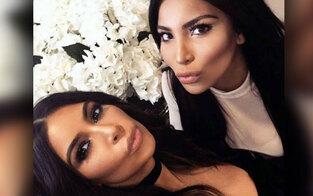 Kim: Peinliches Treffen mit Look-Alike