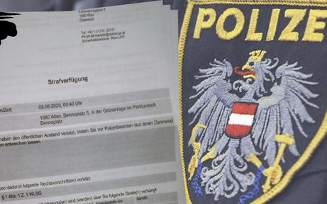 Polizei erklärt: So kam es zur 500-Euro-Furz-Strafe
