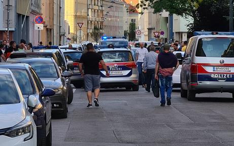 Großeinsatz in Wien: Graue Wölfe störten Kurden-Demo