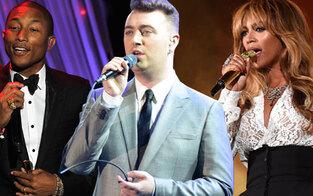 Grammy-Show der Rekorde