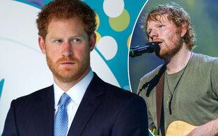 Prinz Harry: Mit Ed Sheeran verwechselt