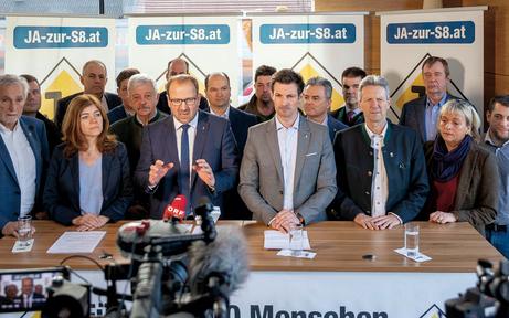 ÖVP NÖ startet Petition für die S 8