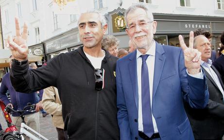 Klagenfurt wählt Van der Bellen zum Sieger