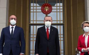 Erdogan verbannt EU-Chefin auf die Couch
